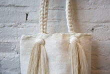 Load image into Gallery viewer, Rapunzel Bag - White & Sand