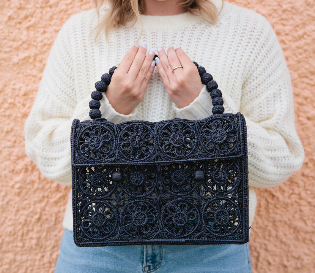 The Erica Bag - Dark Navy