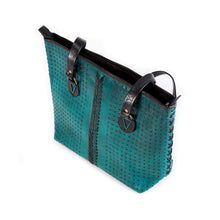 Load image into Gallery viewer, Cusco Tote - Winter Turquoise