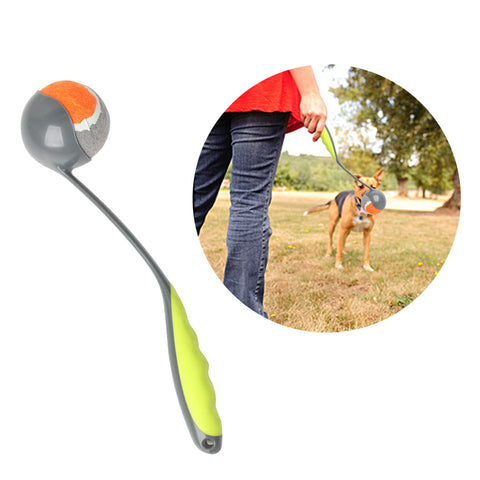 PAWISE Dog Ball Launcher Dog Fetch Toy Dog Tennis Ball Thrower