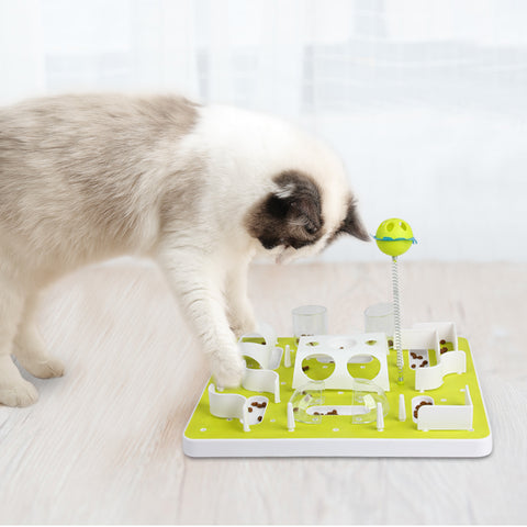 Interactive Cat Treat Maze