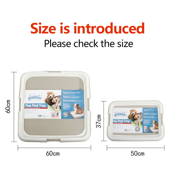 PAWISE Pee Pad Holder Puppy Training Pads Indoor Dog Potty Puppy Essentials Dog Training Holder