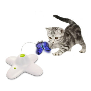 Interactive Cat Teaser Toy (Shiny Butterfly)