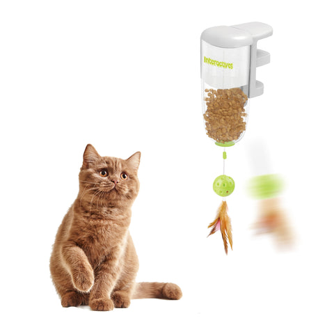 Interactive Cat Treat Dispenser