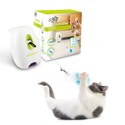 Interactive Cat Jumping Wand
