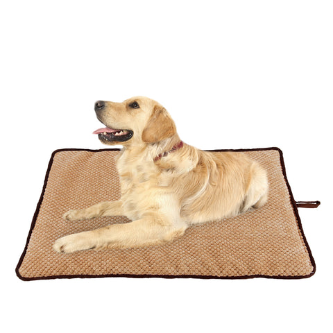 PAWISE Pet Cushion Dog Cat Mat Washable Mattress Teflon Defender Dog Beds Dog Cushion Crate Cage Puppy Bed