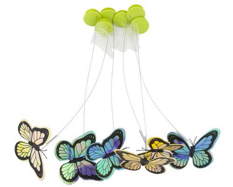 Interactive Cat Butterfly Flutter Replacements - 6 Pack