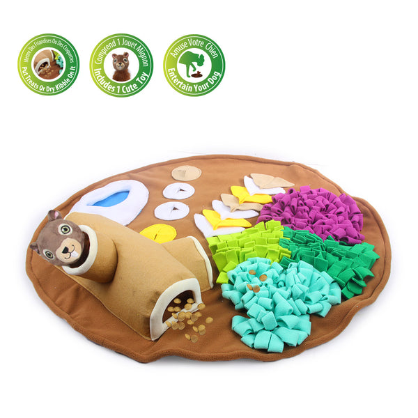 Dog Feeding Mat, Nosework Training Toy Snuffle Mat