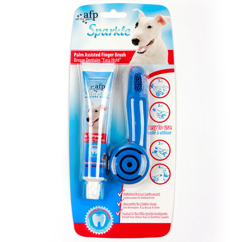 Dog Peanut Toothpaste Dental Care Kit