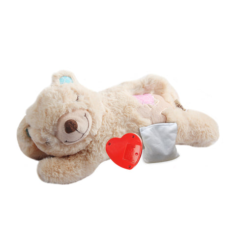 Puppy Heart Beat Sleep Aid Plush Toy