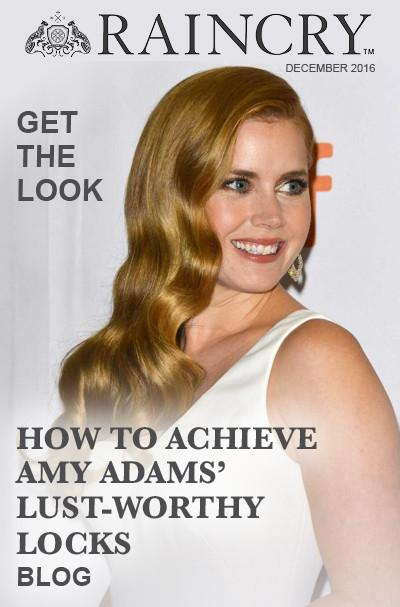 How-To Achieve Amy Adams' Lust-Worthy Locks