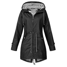 Load image into Gallery viewer, Women Jacket Coat Waterproof Transition Jacket Outdoor Hiking Lightweight Raincoat