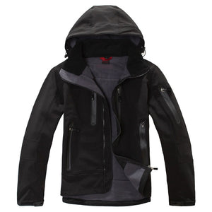 Men's Winter Hiking Jacket Men Rain Coat Climbing Trekking Windbreaker Fishing Waterproof