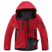 Load image into Gallery viewer, Men's Winter Hiking Jacket Men Rain Coat Climbing Trekking Windbreaker Fishing Waterproof