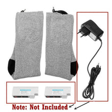 Load image into Gallery viewer, Winter Heated Socks Best Rechargeable Battery Operated Electric Socks Unisex Foot Warmers