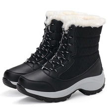 Load image into Gallery viewer, 2019 Women Snow boots Waterproof Non-slip Parent-Child Winter Boots Plus Size 31-42