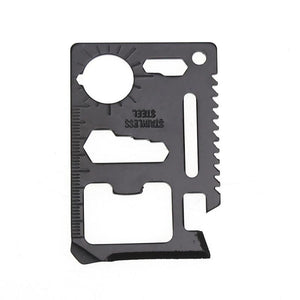 Multi-function Mini Portable Emergency Survival Card