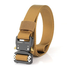 Load image into Gallery viewer, Nylon Military Waist Belt with Metal Buckle Adjustable Heavy Duty Training Waist Belt Hunting Accessories