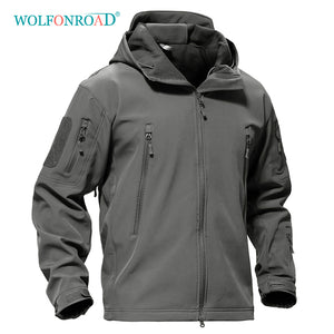 Outdoor Softshell Jacket Waterproof Hiking Camping Jacket Military Tactical Hunting Jacket