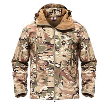 Load image into Gallery viewer, Outdoor Softshell Jacket Waterproof Hiking Camping Jacket Military Tactical Hunting Jacket