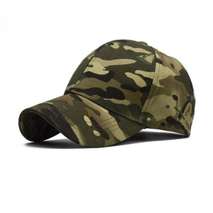 100% Cotton Outdoor Sport Climbing Caps Camouflage Hat