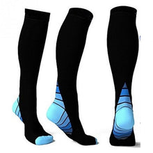 Load image into Gallery viewer, Men Professional Compression Socks Breathable Shin Splints Flight Travel