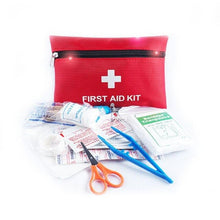 Load image into Gallery viewer, Survival Camping Travel First Aid Kit Contains12 Kind First Aid Items