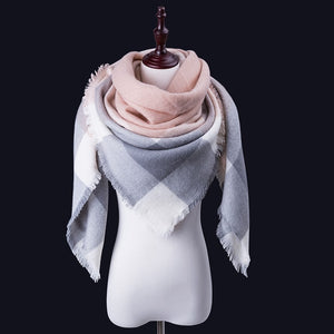 Women Winter Scarf For Women cashmere Scarf and Shawl Women's Blanket Scarf Warm Shawl