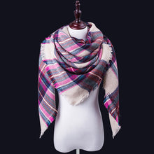 Load image into Gallery viewer, Women Winter Scarf For Women cashmere Scarf and Shawl Women's Blanket Scarf Warm Shawl