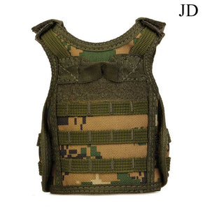 Tactical Premium Military Mini Miniature Hunting Vests Beverage Cooler Adjustable Shoulder Straps