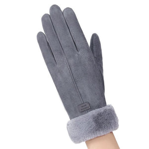 Winter Cycling Gloves Velvet Keep Warm Touch Screen Gloves Full Finger Windproof Winter Gloves