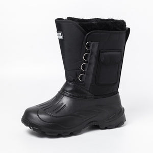 New men snow boots waterproof men's Calf boots Shoes Size39-45