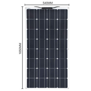 Xinpuguang Brand 100 W flexible solar panel kit 100 watt for Home,Yacht, RV,Caravan, Cabin, Boat and 12v Battery Charger