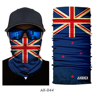 National flag Seamless Magic Face Mask