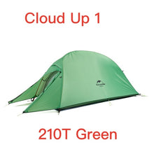 Load image into Gallery viewer, Naturehike Cloud Up Series Ultralight Camping Tent Waterproof Outdoor Hiking Tent