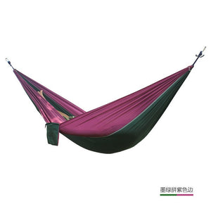 24 Color 2 People Portable Parachute Hammock