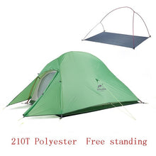 Load image into Gallery viewer, Naturehike Upgraded Cloud Up 2 Ultralight Tent Free Standing For 2 Person With free Mat