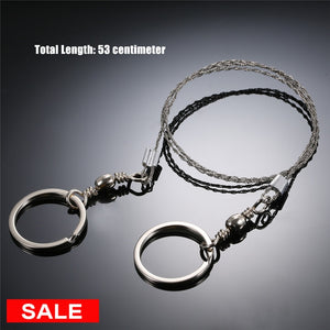 Camping Saw Emergency Survival Gear Stainless Steel Wire survival