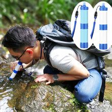 Load image into Gallery viewer, Pressurized water purification straw portable outdoor water filter