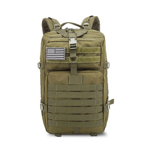 50L Large Capacity Men Army Military Tactical Backpack 3P Softback