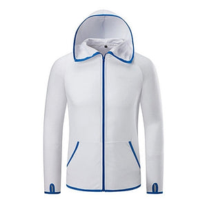 Unisex Hydrophobic Anti-Fouling Fishing Clothing Coat Waterproof Quick-Drying