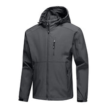 Load image into Gallery viewer, Men Sport Zip Jackets Coat Casual Outwear Waterproof