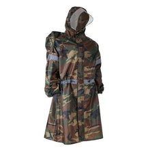 Load image into Gallery viewer, New Outdoor Raincoat One-Piece Hooded Long Sleeve Reflective