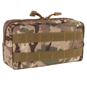 Outdoor 600D Nylon Traveling Gear Molle Pouch Military Bag Tactical Vest Sundries Camera Magazine Storage Bag