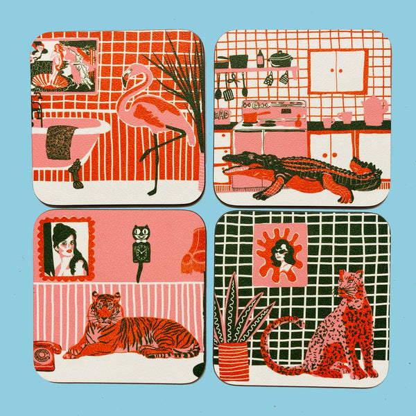 Kitsch Collection Coasters