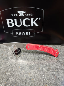 BUCK SLIM SELECT RED KNIFE    0110RDS2