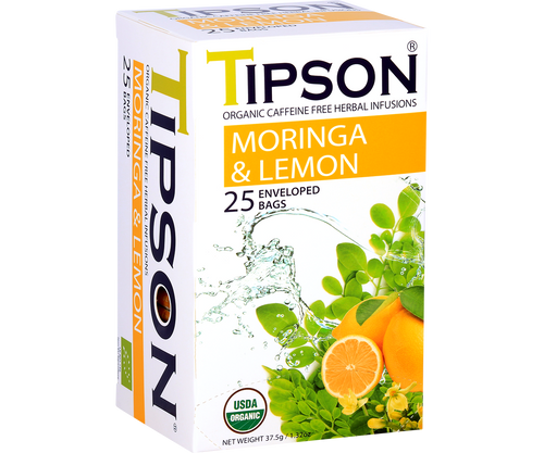 Organic Moringa & Lemon (6 Pack)