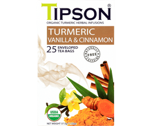 Load image into Gallery viewer, Organic Turmeric Vanilla & Cinnamon