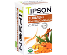 Load image into Gallery viewer, Organic Turmeric Ginger & Cinnamon