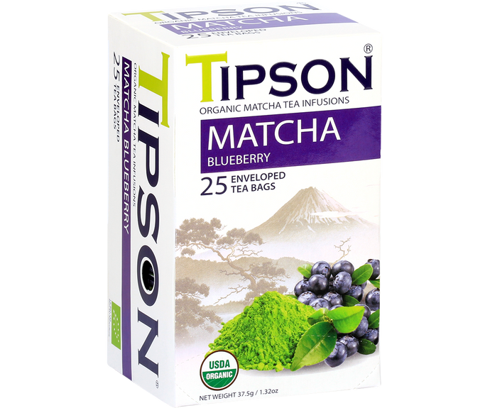 Organic Matcha Blueberry